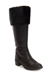 Softspots 'Campbell' Tall Boot Women Black Leather