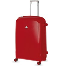 Delsey Belfort Plus Four Wheel Case 76Cm Red