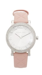 Michael Kors Norie Watch Silver Blush
