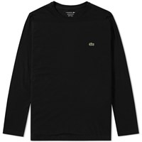 Lacoste Long Sleeve Classic Tee Black