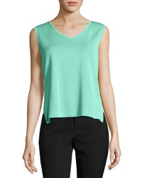 Ming Wang V Neck Knit Tank Ses