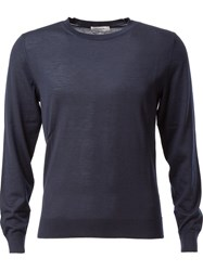 Valentino Crew Neck Sweater Blue