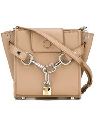 Alexander Wang Mini 'Attica' Crossbody Bag Nude And Neutrals