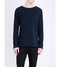 Nudie Jeans Otto Cotton Jersey Top Greymelange