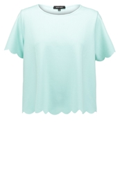 New Look Scallop Basic Tshirt Mint Green