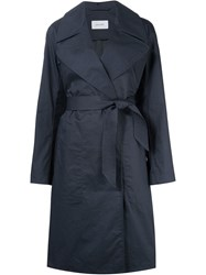 Christophe Lemaire Lemaire Belted Trench Coat Blue