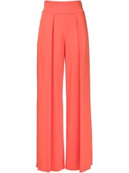 Nicole Miller Palazzo Trousers Pink And Purple