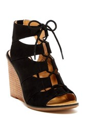 Melrose And Market Calita Fab Wedge Sandal Wide Width Available Black