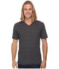Hurley Staple Tri Blend V Neck Grey Black Men's T Shirt Gray