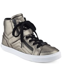 G By Guess Ojay Lace Up High Top Sneakers Women's Shoes