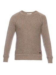 Burberry Cashmere Knit Crew Neck Sweater