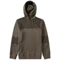 Helmut Lang Combo Pullover Hoody Neutrals