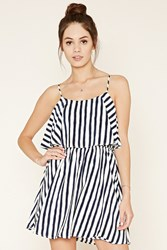 Forever 21 Striped Flounce Dress