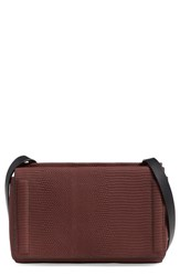 Rag And Bone 'Mini Aston' Snake Embossed Leather Crossbody Bag