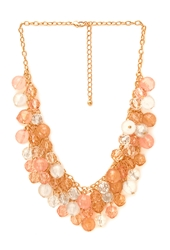 Forever 21 Chic Bauble Bead Necklace