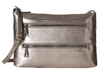 Hobo Mara Hematite Cross Body Handbags Silver