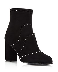 Belstaff Pointet Studded Booties Black Silver