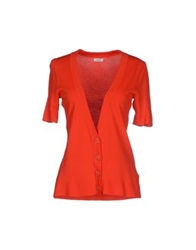 B.Young Cardigans Red
