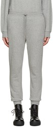 Alexander Wang Grey French Terry Lounge Pants