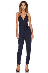 Finders Keepers Here We Go Jumpsuit Navy