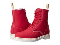Dr. Martens Page 8 Eye Boot True Red Canvas Lace Up Boots