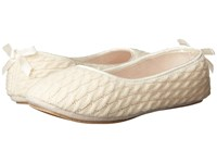 Patricia Green Cassie Ivory Women's Slippers White