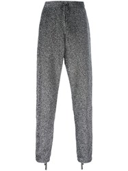 Faith Connexion Straight Trousers Metallic