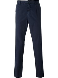 Dolce And Gabbana Classic Chinos Blue