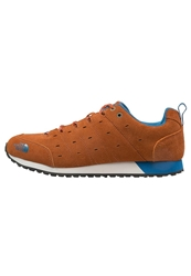 The North Face Hedgehog Retro Trainers Brown Heron Blue