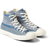 Converse 1970S All Star Chuck Taylor Striped Canvas High Top Sneakers
