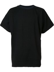 The Squad Long Length T Shirt Black