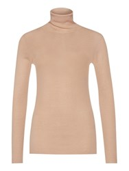 Marc Cain Roll Neck Jumper Biscuit
