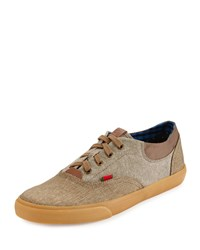 Ben Sherman Stevie Colorblock Low Top Sneaker Chestnut