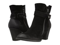 Paul Green Dallas Boot Black Suede Women's Boots