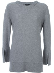 Calvin Klein Collection Crew Neck Jumper Grey