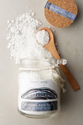 Anthropologie Mer Sea And Co. Foaming Bath Salts Blue