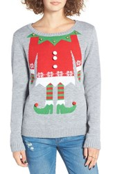Love By Design Women's Elf Body Christmas Sweater