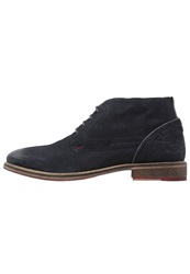S.Oliver Casual Laceups Navy Dark Blue