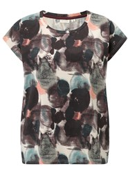 Numph Painty Printed T Shirt Multi