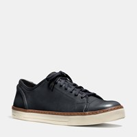 Coach York Lace Sneaker Midnight Navy