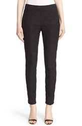 St. John Women's Collection 'Alexa' Crop Jacquard Pants