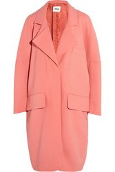 Issa Ray Oversized Wool Blend Coat Pink