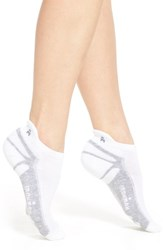 Women's Wigwam 'Ironman Thunder Pro' Low Cut Tab Back Socks White