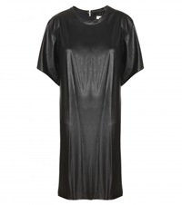 Isabel Marant Etoile Jadis Faux Leather Dress Black
