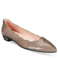French Sole Fs Ny Tequila Flats Women's Shoes Taupe Patent