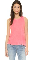 Sundry Muscle Tee Pop Orange