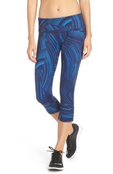 Brooks Women's 'Greenlight' Capri Leggings Wave Cosmo