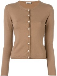 P.A.R.O.S.H. 'Linsey' Cardigan Nude And Neutrals