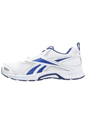 Reebok Triplehall 5.0 Cushioned Running Shoes White Purple Silver
