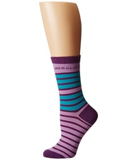Life Is Good Lig Crew Socks Icy Lilac Women's Crew Cut Socks Shoes Purple